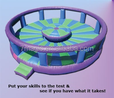 fun outdoor inflatable sport games about gladiator duel
