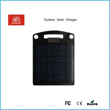 2014 New design protable Advertisement solar panel battery charger 3.7v