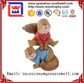 Custom Made Polyresin Figurine Mini Animal Action Figures Resin Garden Statues