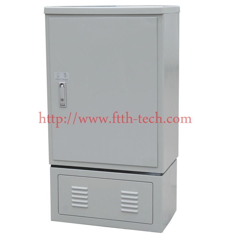 outdoor Fiber Optic Cross Connect Cabinets 288 cores