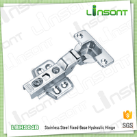 Euro design stainless steel hydraulic inseparable pvc pipe hinge used bar furniture conceal hinge