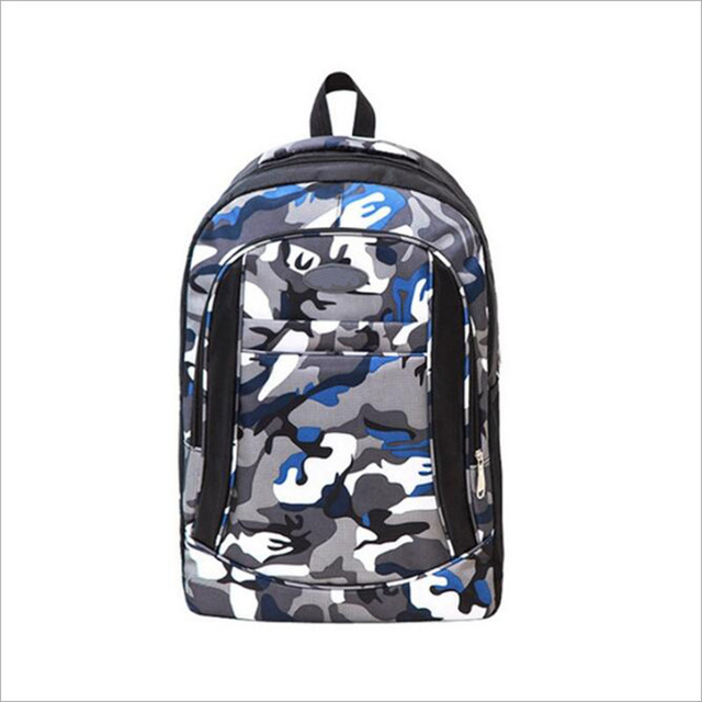 Factory wholesale women new arrival camouflage color hit-color large travelling full printing full color travelling backpack