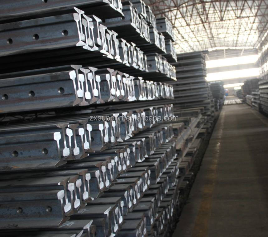 Direct Factory Price Good Quality Railroad p60 60kg Steel Rail For Exporting