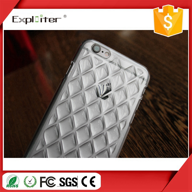 Factory manufacturer TPU crystal mobile back cellular phone cover