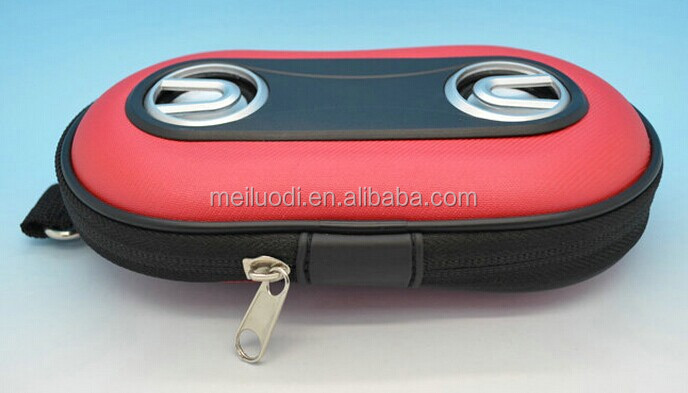 Meiluodi Portable speaker bag with MP3/MP4 player mini speaker case