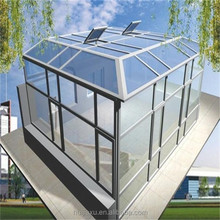 Factory price commercial glass house for pool