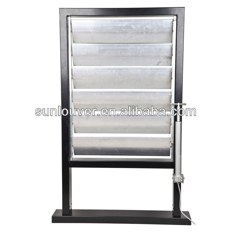 Ventilation adjustable aluminium window louver