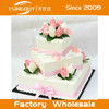 Tsingbuy hot sale high quality professional customized beautiful wedding dummy cake / fake birthday cake for window display