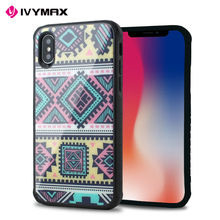 Ivymax high quality tempered glass mobile phone case for iphone 8 x,x for iphone case,smart phone case