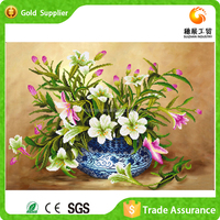 China Wholesale Diy Wall Decor Fabric Painting Pictures