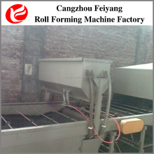 Hebei colorful stone chip coated steel roof tiles cold roll forming machine