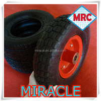 high quality rubber small wheels 4.00-6 4 wheel go cart