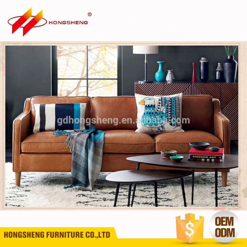hot pink imported home furniture leather sofa