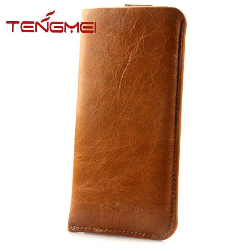 mobile cover for iphones, for iphone case, top layer cow leather phone pouch