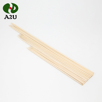 High Quality Custom Eco-Friendly BBQ Bamboo Food Skewer/Stick