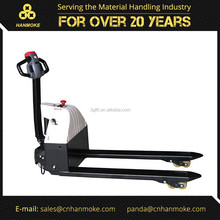 Chinese supplier 2.0 ton battery operated pallet truck electric hand pallet jack for sale