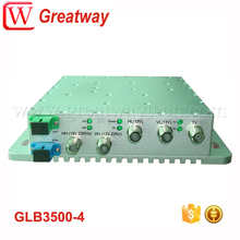 SMATV Quad/Quattro LNB fiber to the home transmitter/receiver along with GPON