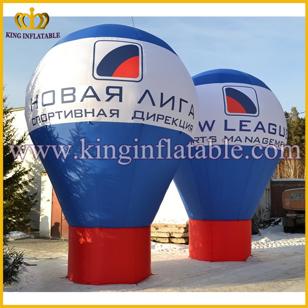 Cheap price advertising inflatable hot air ground balloon