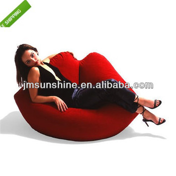 2014 world cup CE PVC inflatable sofa /inflatable chair /furniture/lip shape
