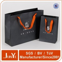 Best luxury brand packaging paper bag for curtains and bottlees