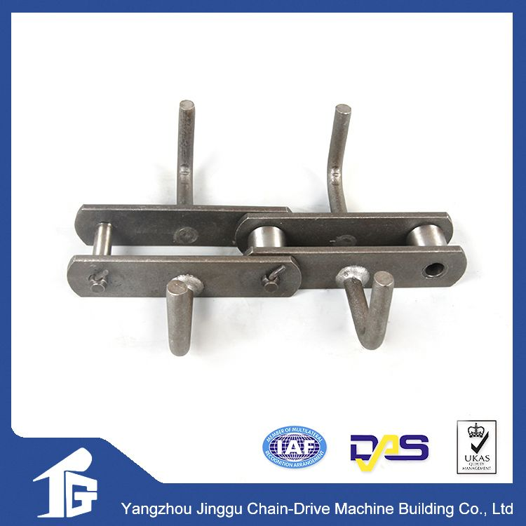 Long using life flexible conveyor chain double plus chain