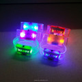 Promotional colorful led glowing happy wristband