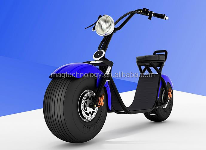 Mag New electric scooter with extra battery charging separately E-mark electric motorcycle with 48v 1000w motor