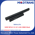 Top Rechargeable Laptop Battery Supplier for SONY BPS22 11.1V 5.2Ah 58Wh Black