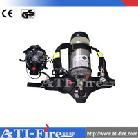Firefighting Respirator Breathing Apparatus Double Cylinder