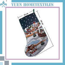 Guests Customize Children' Christmas Gift Cast Iron Christmas Stocking Holder