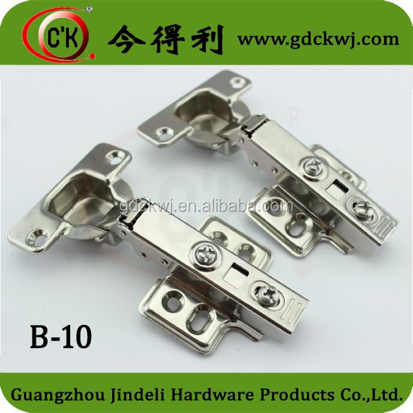 35mm Cup Furniture Stainless Steel SS 304 Cabinet Overlay Hinge