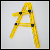 Multi Angle ABS Ruler Measures All Angles Angle-izer Template Tools