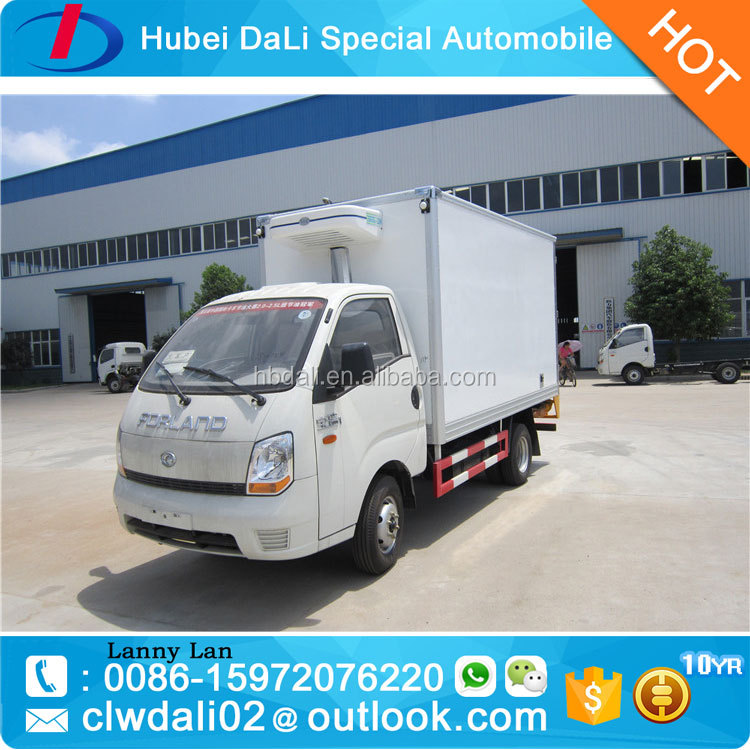 4*2 5ton foton thermo king small refrigerator reefer box truck