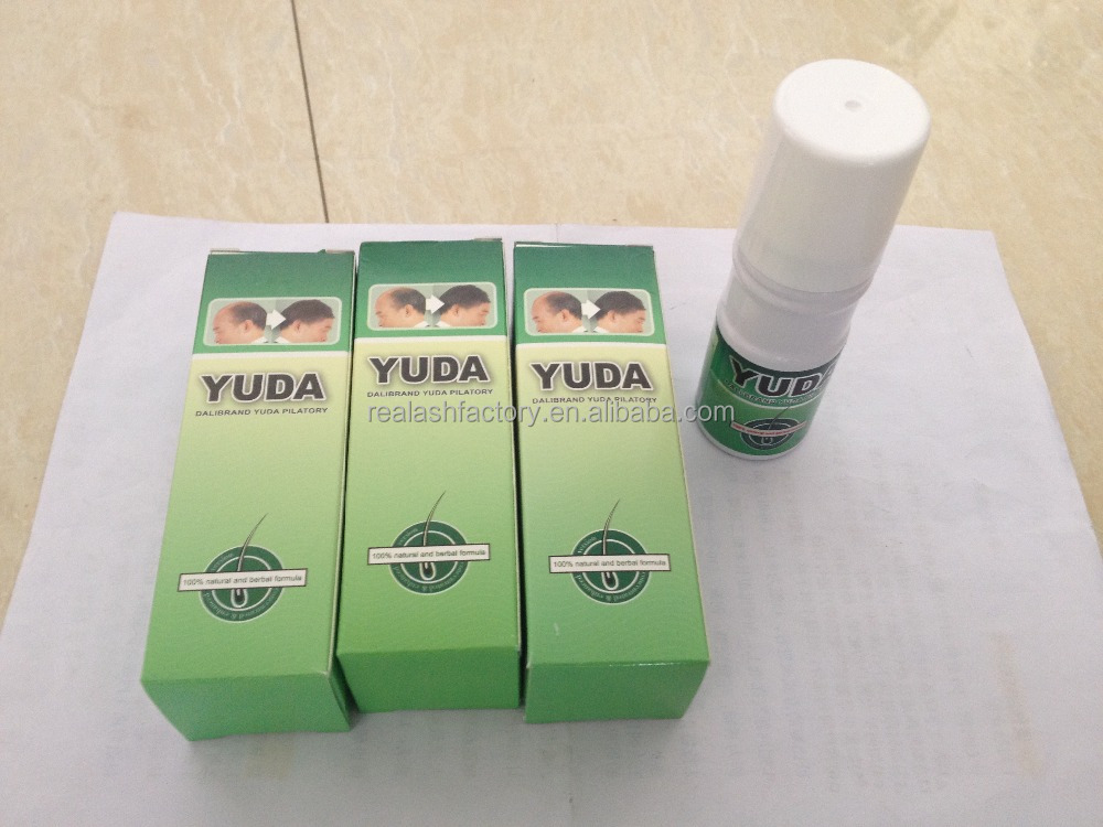 Best hair loss treatment spray for men use YUDA hair tonic