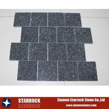 cheap green porphyry mosaic tile for wall clabbing shaped