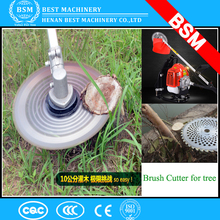 Gas Power Type nylon cutter or metal cutter Cutting Type lawn grass cutter trimmer machine