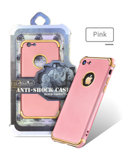 Electroplating Mobile Phone Case Handphone Accessories Cover TPU Case for Iphone 6 / 6 plus