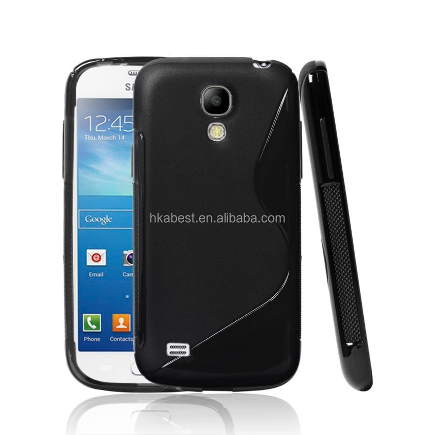New S Line TPU Soft Gel Rubber Skin Back Cover Case For SAMSUNG GALAXY S4 mini i9190