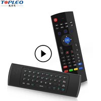 Popular MX3 precision 2.4G Air mouse master tv universal remote control
