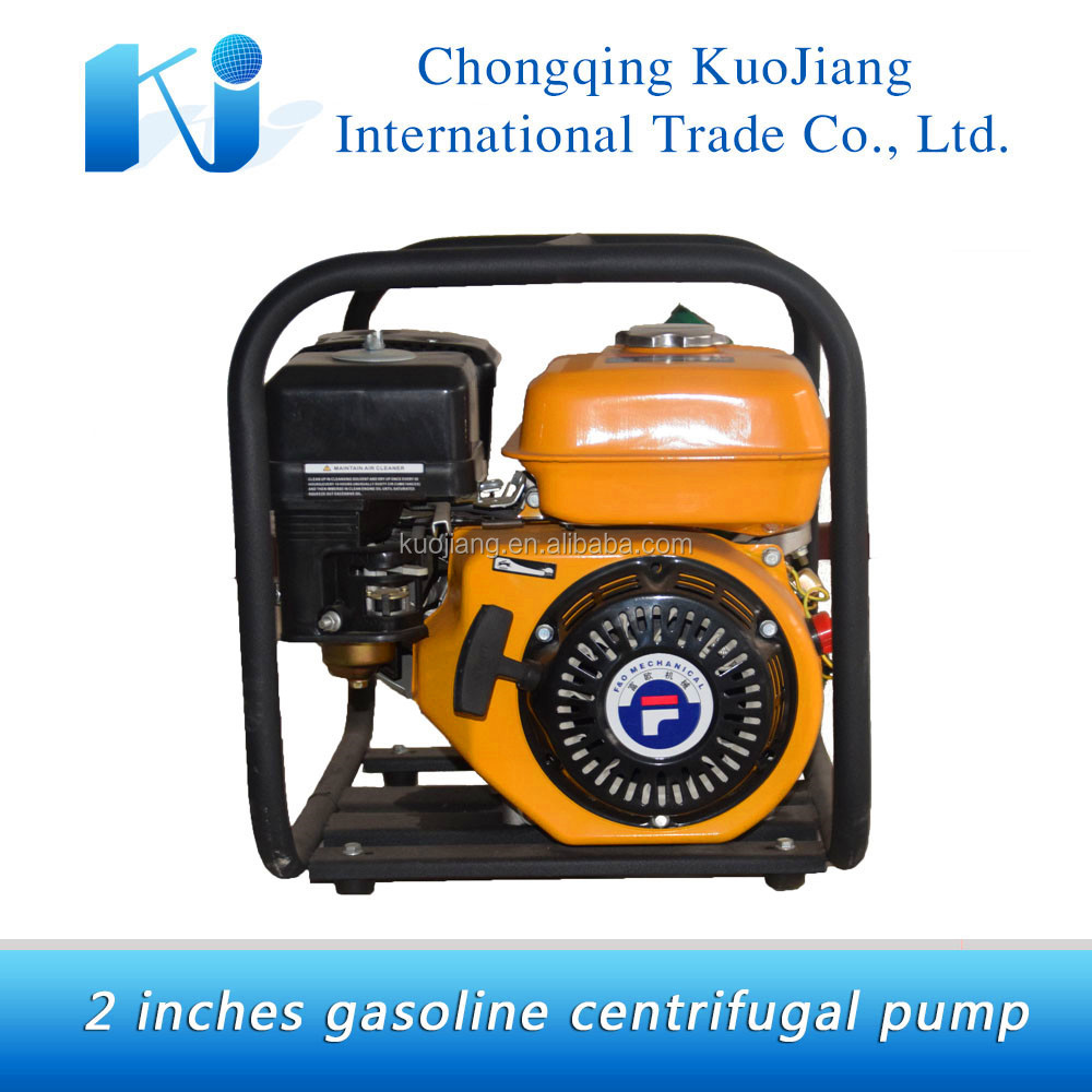 2 inches centrifugal gasoline engine water pump for sale