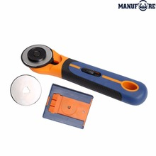 plastic handle 45mm SK5 blade round fabric rotary cutter