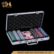 300pcs 11.5g PS Poker Chip Set/300pcs 11.5g dice poker chip set
