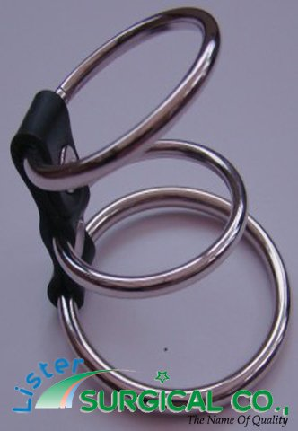Leather Penis Ring 3 Impotence Aid Enhancer