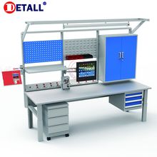 Detall drawer stainless steel workbench with modular design
