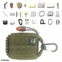wholesale hiking backpack camping gear list first aid kit survival