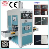 best selling fully automatic leather bags welding bag making machines