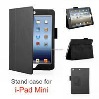 Black PU leather for ipadmini stand case