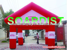 big inflatable tent