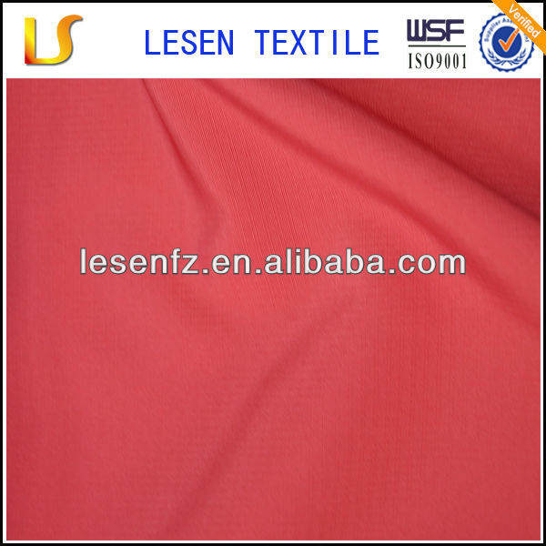 2010-2014 Hot Sale Lesen Textile polyester pongee 0.3 check fabric