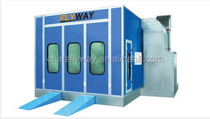 Auto electrical heating car spray paint booth with CE (FW-SB302E)